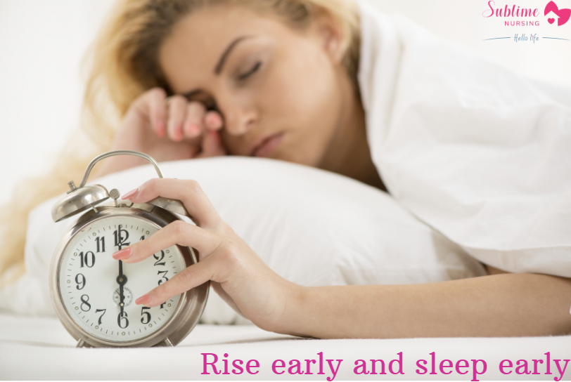 Benefits of Rise and Sleep Early